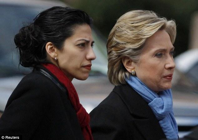 Huma Abedin Hillary Clinton